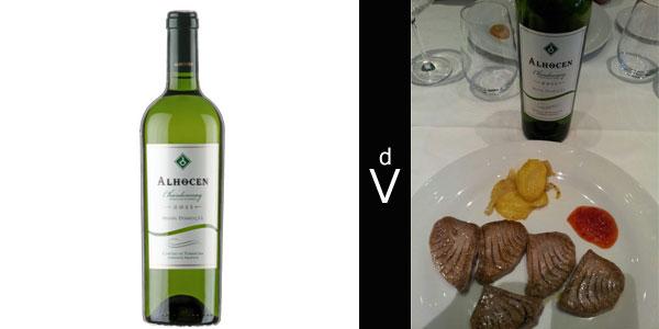 Alhocen-Chardonnay-2011-con-maridaje