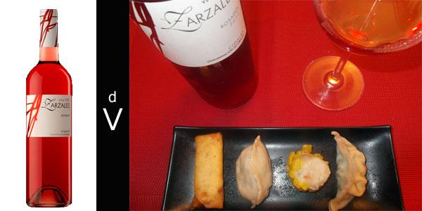 Vega-Los-Zarzales-Rosado-2012-con-maridaje
