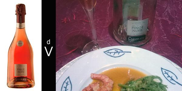 Codorniu-Brut-Pinot-Noir-con-maridaje