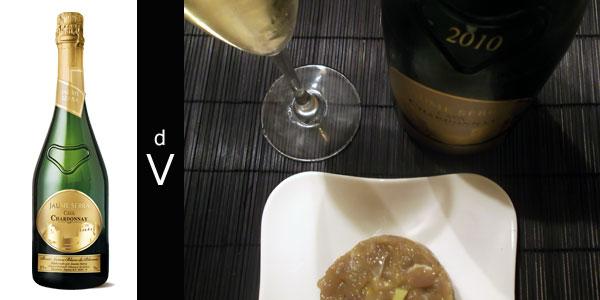Jaume-Serra-Chardonnay-Blanc-de-Blancs-2010-con-maridaje