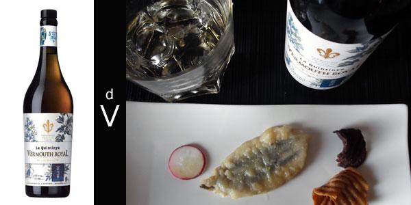 La-Quintinye-Vermouth-Royal-Blanc-con-maridaje